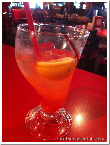Red Robin Speckled Lemonade