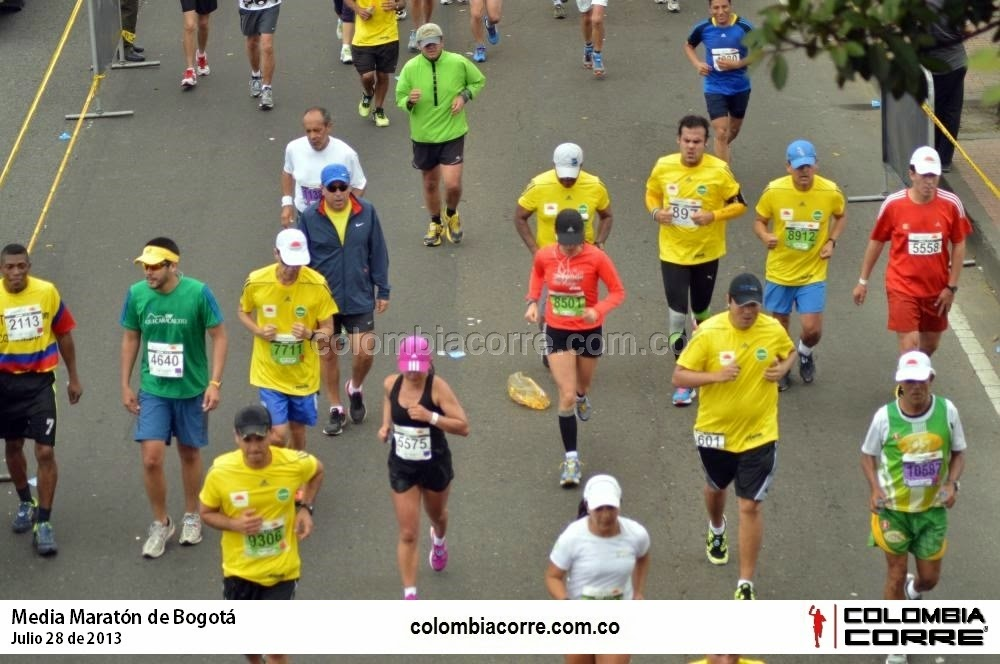 media marat6on de bogota 2014