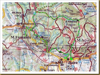 Balze-IGA cartografia