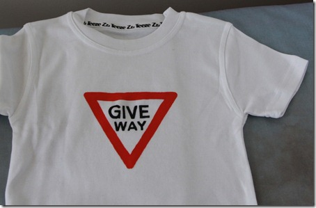Give Way T-shirt (2)
