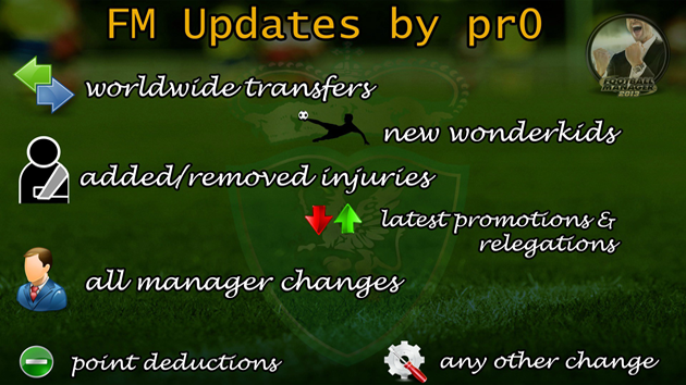 Winter Transfer and Data Update by pr0  FM 2013