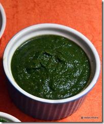 Vrat Ki hari dhaniya chutney cilantro chutney