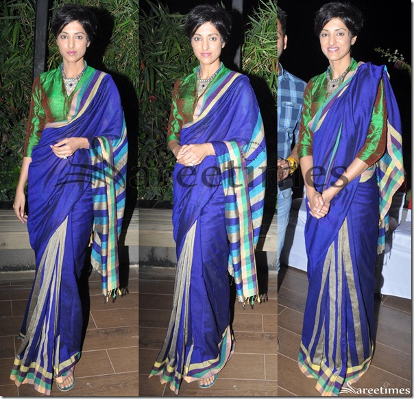 Jesse_Randhawa_Blue_Saree