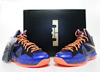 nike lebron 10 ps elite blue black 8 04 Release Reminder: Nike LeBron X P.S. Elite Superhero
