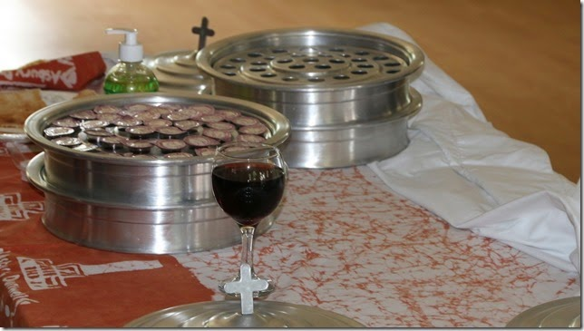 Ebola Safe Communion Elements