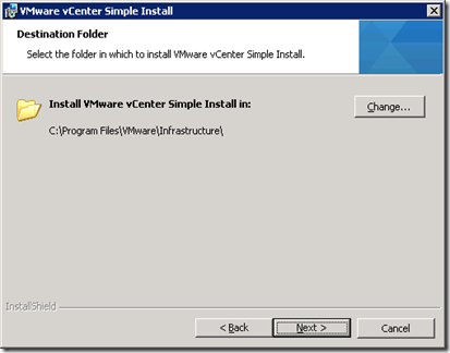 11_vCenter SSO Destination Folder