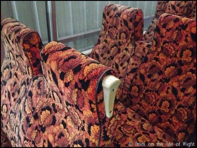 Seat detail ADL459B Bedford SB3