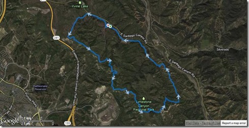 Running Limestone Canyon 5-11-2013