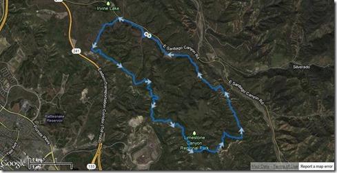 Running Limestone Canyon 5-11-2013