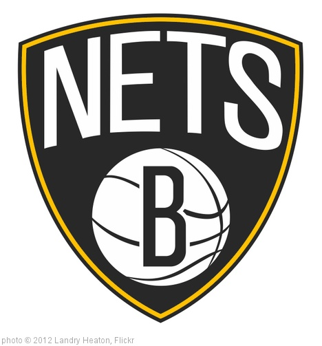 'Brooklyn Nets Logo with Gold, No.2' photo (c) 2012, Landry Heaton - license: http://creativecommons.org/licenses/by/2.0/