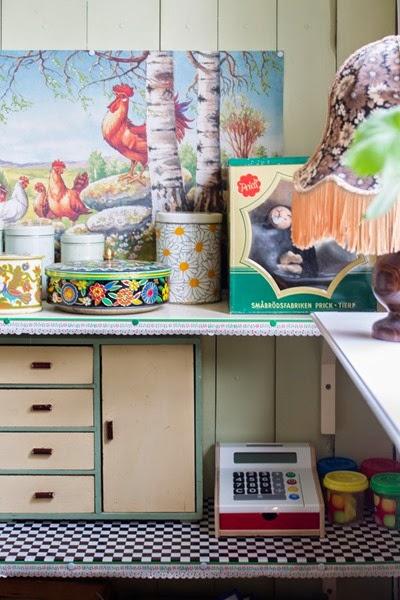 Barnkammare efter restaurering. Foto: Erika Åberg