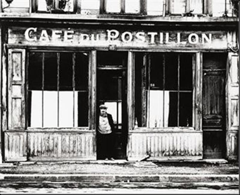 Café du Postillon, early 1960s