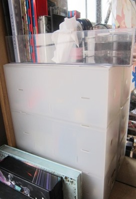 makeup drawers and acrylic tray, bitsandtreats