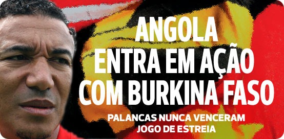 Angola Vs Burkina Faso