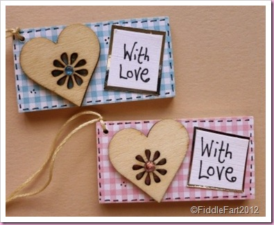 Wooden Baby tags