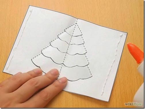 popup tarjeta navidad 2 - Tarjeta De Navidad En 3d