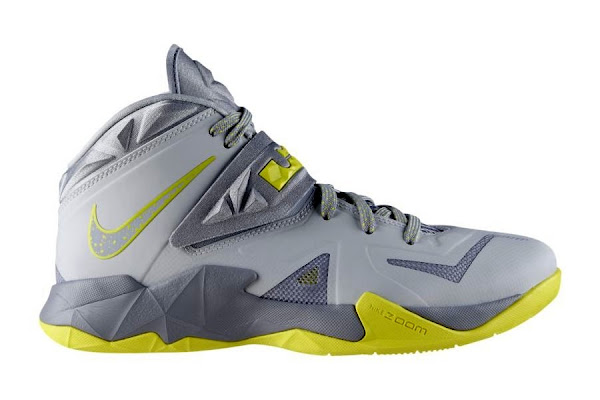 Nike Zoom Soldier VII 7 Grey  Yellow Available in Europe