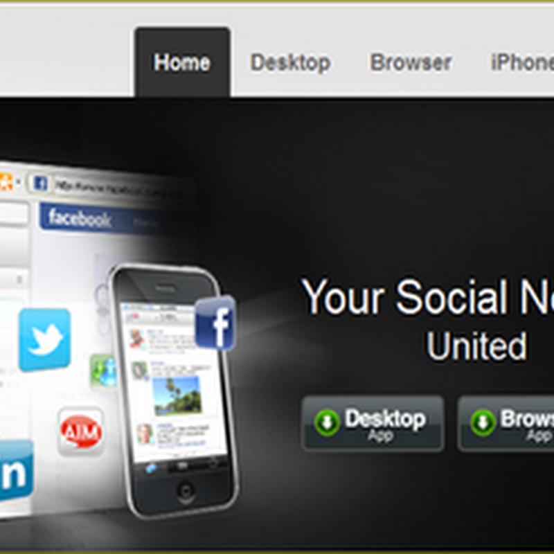 อัพเดททุก social network บน Desktop ด้วย YOONO