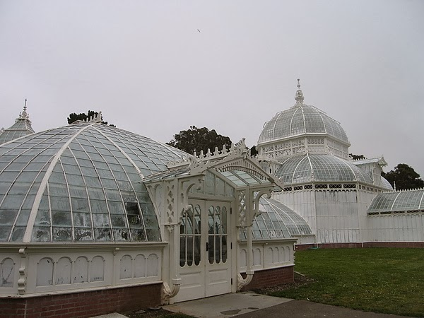 Golden Gate Park 裡的 Conservatory of Flower
