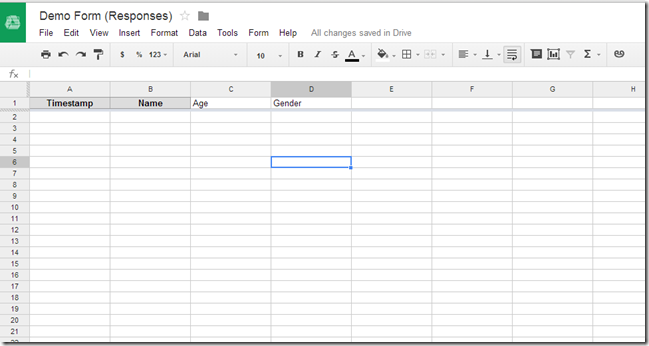 google sign up sheet template