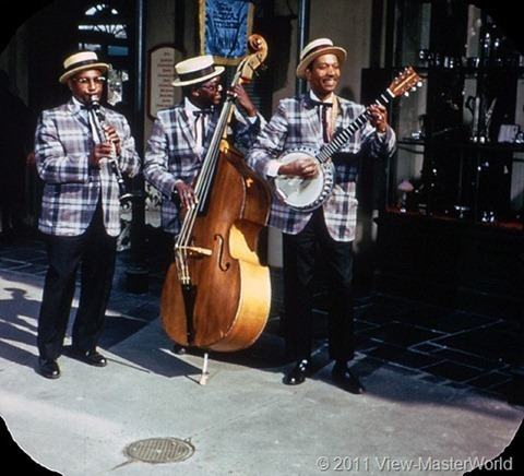 View-Master New Orleans Square (A180), Scene 1-1: Jazz Musicians