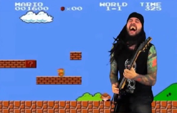 Mario Bros do Metal
