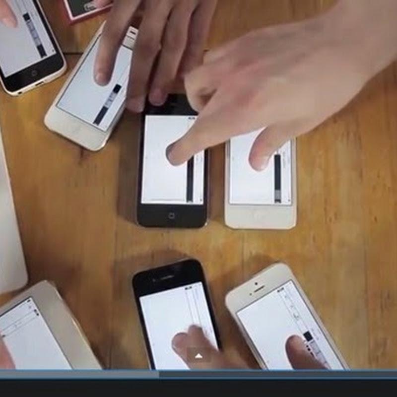 Απίστευτο Βίντεο Μουσικής Χρησιμοποιώντας iPhone και IPads