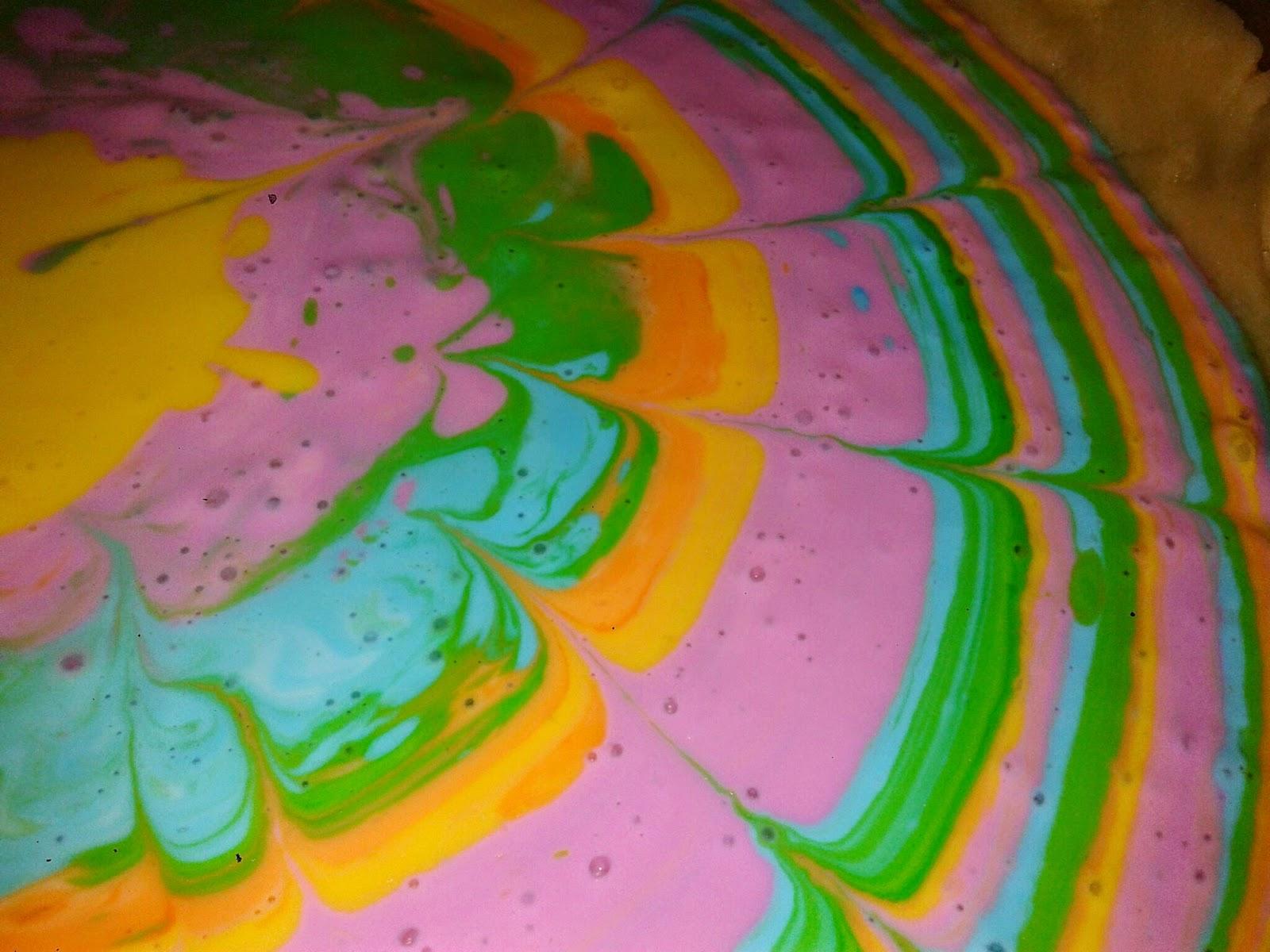 Süße Sünden selbst gebacken: Kunterbunter Käsekuchen