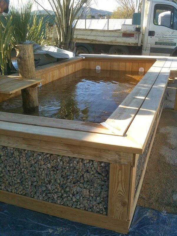 Contact piscine bois modern pool france - Piscine bois sans liner ...