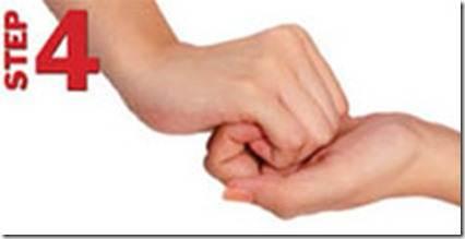 Langkah 4/7 langkah hygiene mencuci tangan