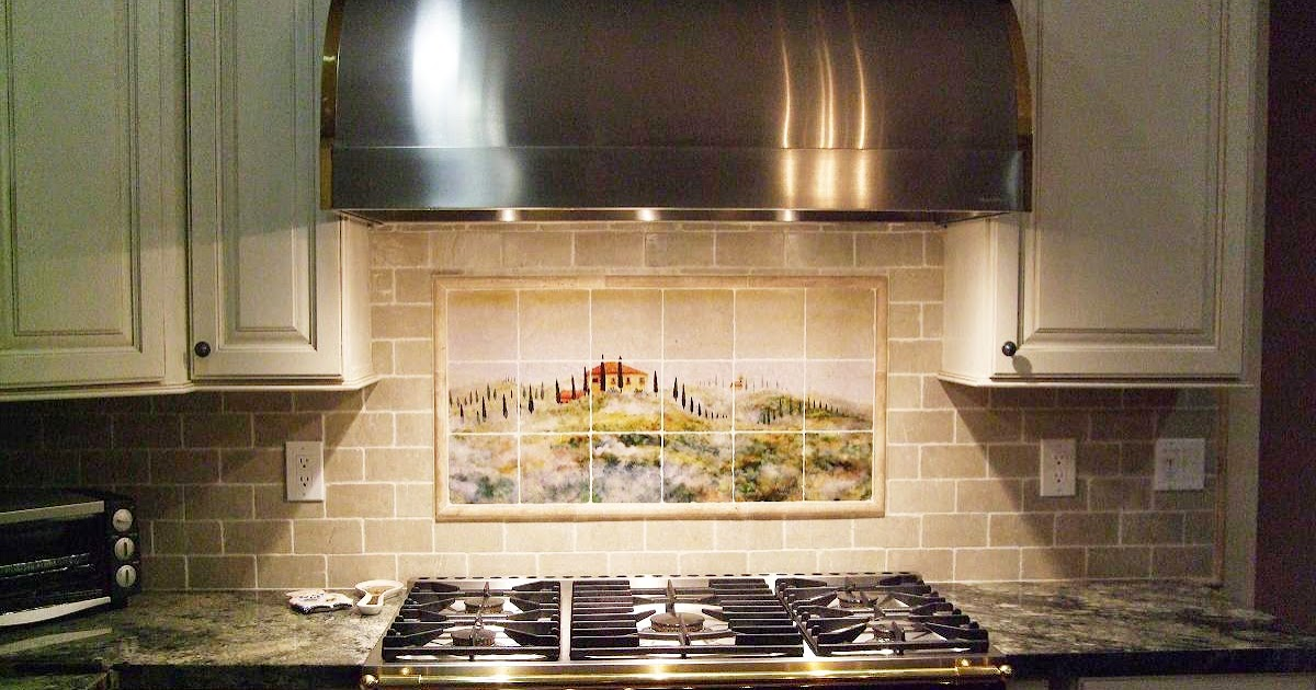 kitchen tile backsplash ideas casual cottage