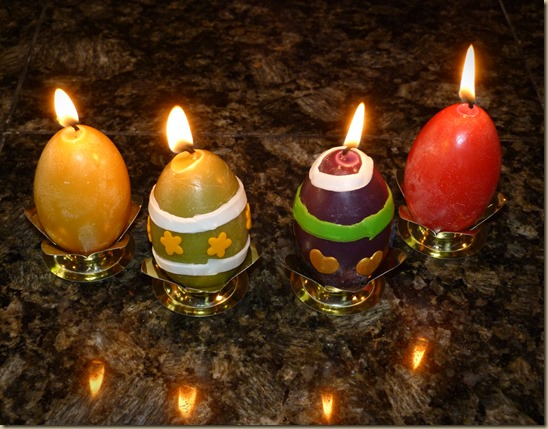 Easter Egg Candles 2
