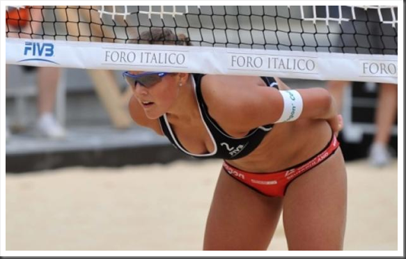 Roma 2012: Beach Volley, show sotto la rete al Foro Italico per il World Tour