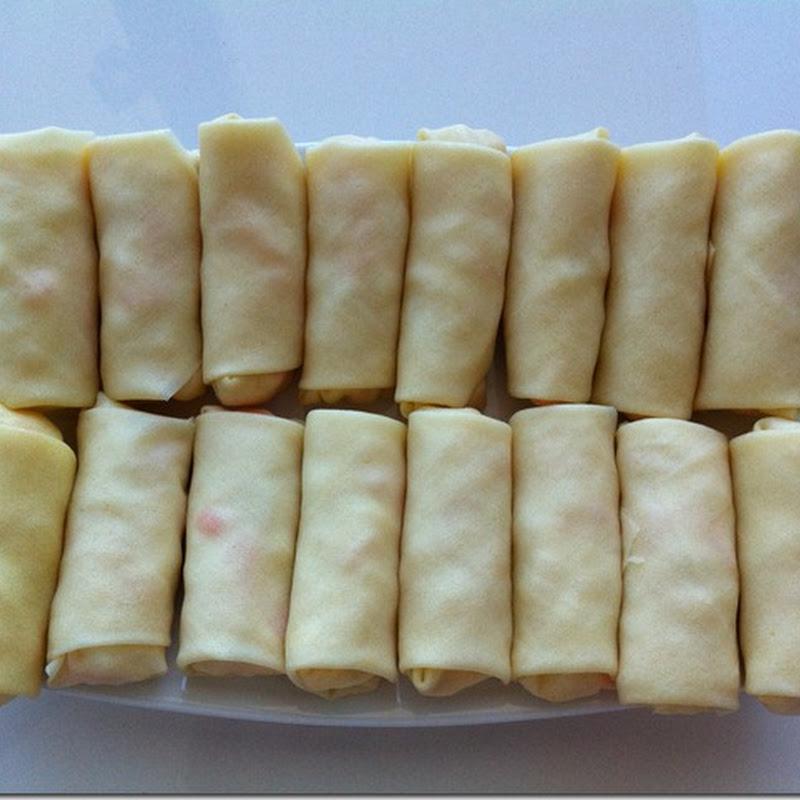 Nấu chay: Chả giò sốt mayonaise – Tuệ Lan thực hiện