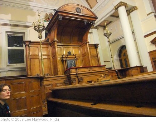 'Courtroom' photo (c) 2009, Lee Haywood - license: https://creativecommons.org/licenses/by-sa/2.0/