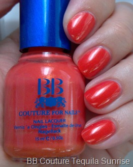 BB Couture Tequila Sunrise