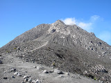 Merapi as seen from the trail from New Selo (Daniel Quinn, October 2011)