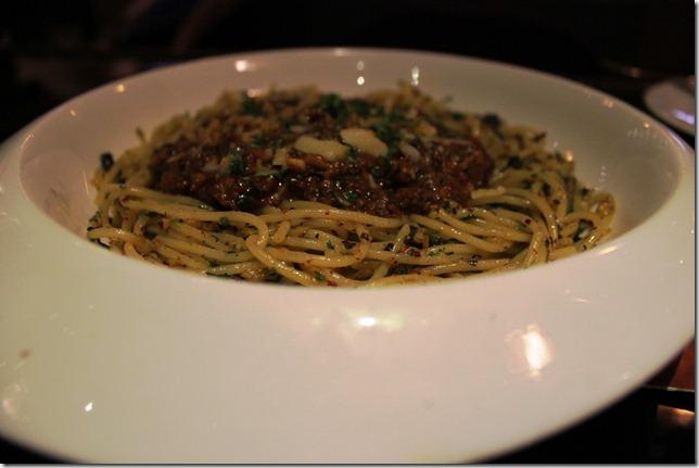 spaghetti bolgnaise