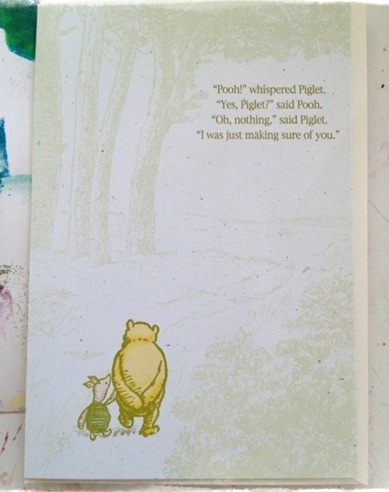 pooh card