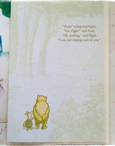 pooh card