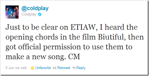 Twitter - @coldplay- Just to be clear on ETIAW, ... 2011-07-08 05-46-19