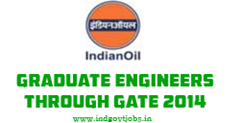 IOCL GATE 2014 Graduate Engineers