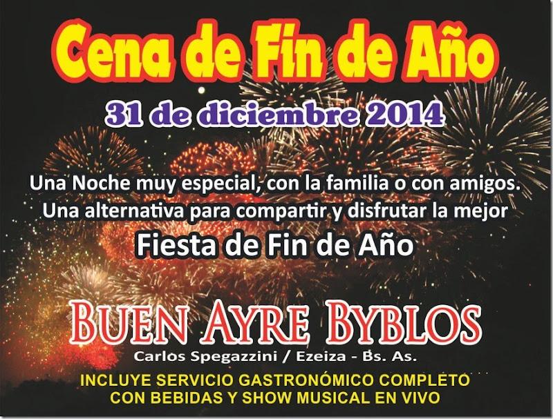 Cena 2013 fin de año Flyer 01