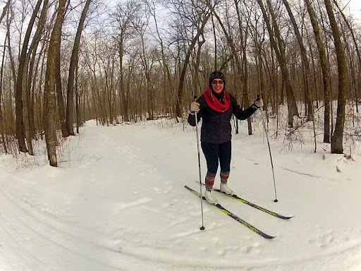 Skiing on Mother North Star