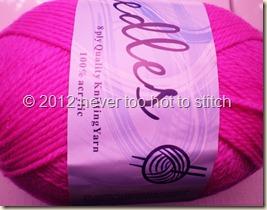 2012 Needles hot pink