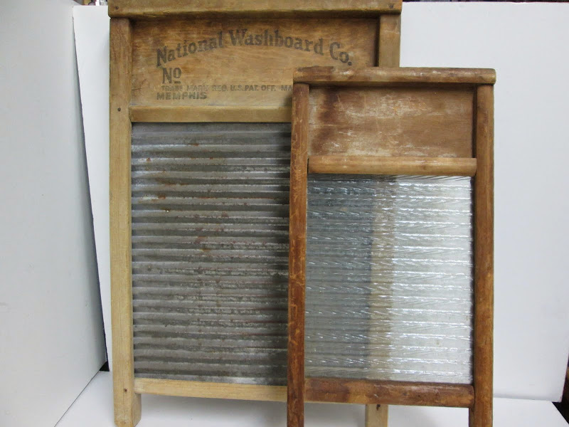 Vintage Washboard Pair