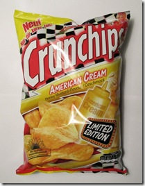 Crunchips American Cream Honey Mustard-Flavour