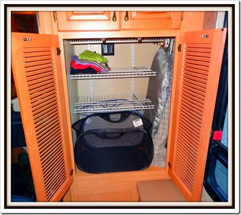 Marsha's closet