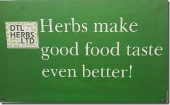 Herbs make good food taste even better