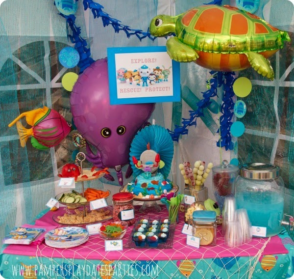 Octonauts Food Table